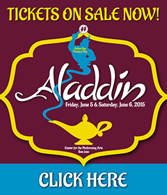 Aladdin Ticket Sales