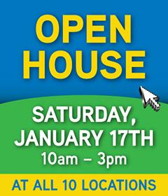 Jan Open House!