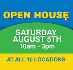 Open House on August 5th