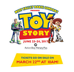 Toy Story 2017 Dance Recital Tickets
